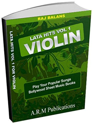 BOLLYWOOD SHEET MUSIC FOR VIOLIN LATA HITS VOL 1 (WESTERN) (English Edition)