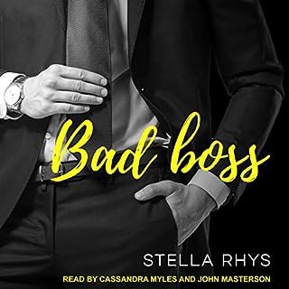 Bad Boss audiobook cover art