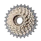 SXCXYG Cassettes Y PiñOnes MTB Flywheel roscado 6 7 8 Velocidad Cassette de Bicicleta MTB Sprocket 13-28T 11-32T Bicicleta Freewheel Rueda Libre (Color : 7 speeds)