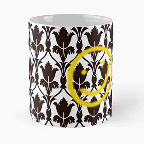 Desconocido Wallpaper Sherlock BBC Baker Holmes 221B Street Taza de café con Leche 11 oz