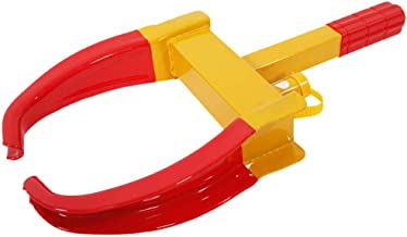 Wheel Lock Clamp Boot Tire Claw Auto Car Truck Rv Boat Trailer Anti-theft Towing High security