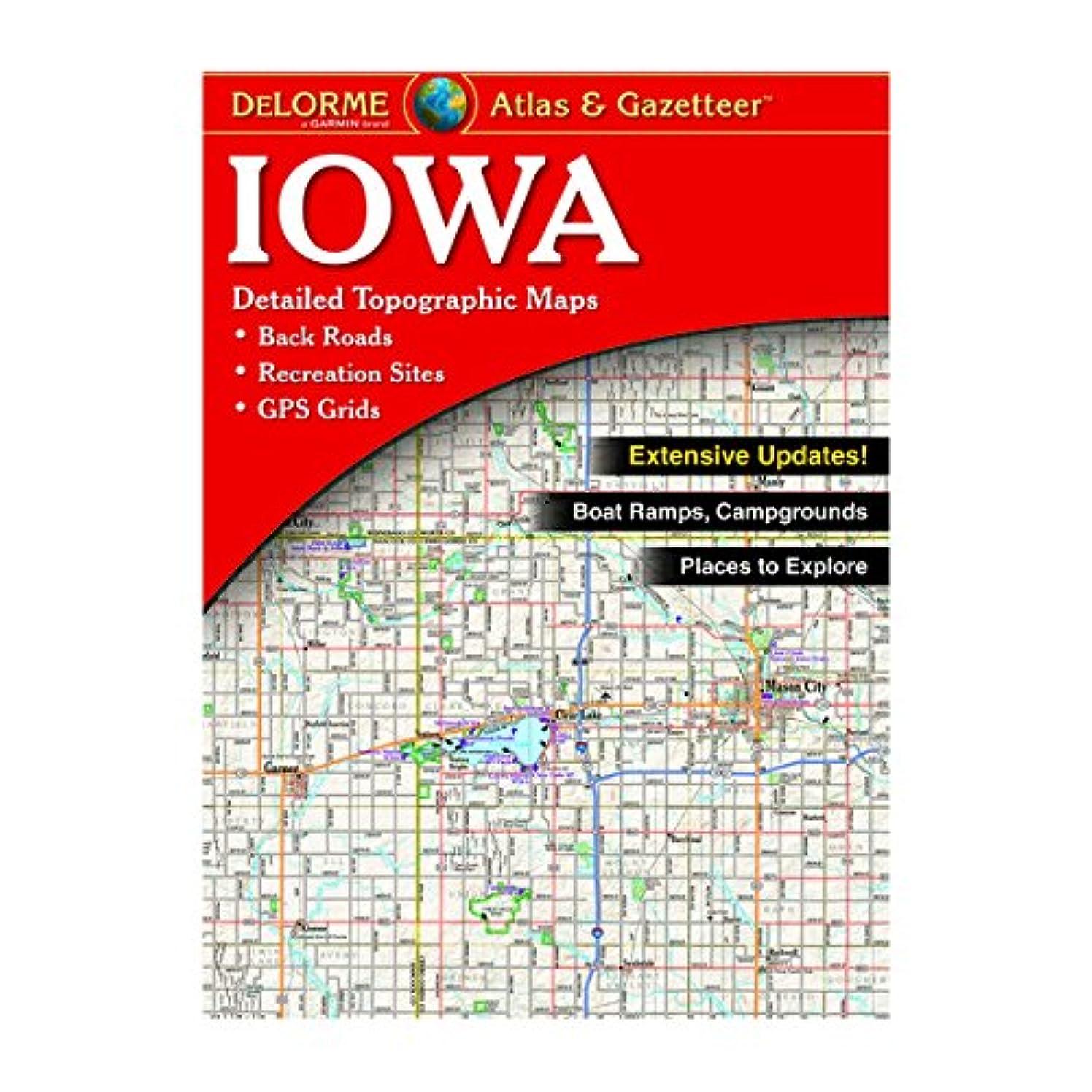 DeLorme? Iowa Atlas & Gazetteer (Delorme Atlas & Gazetteer)