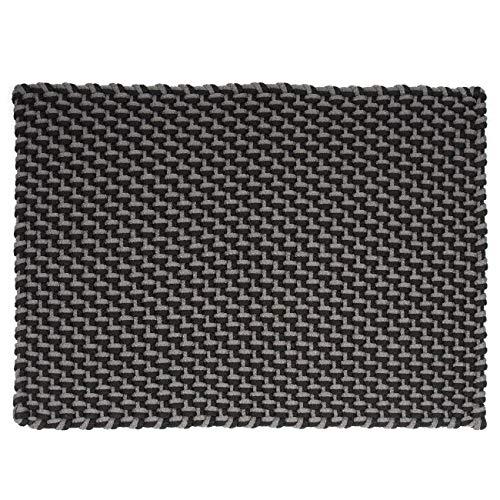 pad - Fußmatte - Fußabtreter - Pool - in/Outdoor - Stone/Black - grau/schwarz - 72 x 92 cm