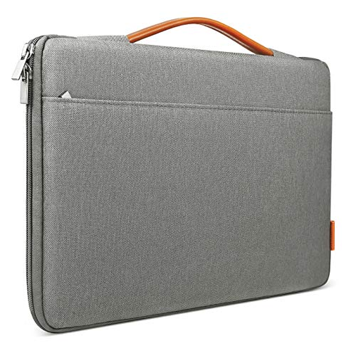 Inateck Tasche Hülle Kompatibel 16 Zoll MacBook Pro 2019/15,4 Zoll MacBook Pro Retina, Notebook Laptop Sleeve Case, Dunkelgrau