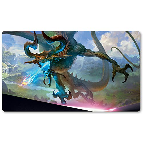 Nicol Bolas, The Ravager - Brettspiel MTG Spielmatte Tischmatte Spielmatte Spielmatte Größe 60x35cm Locking Edge Mousepad Spielmatte für Yugioh Pokemon Magic The Gathering