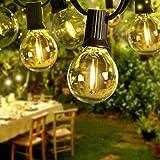 【Alta qualità & minor consumo】 Le lampadine a LED Super G40 hanno una durata di 30000 ore. Rispetto alle lampadine convenzionali da 7w, la nostra lampadina a LED era 0,6w, risparmia elettricità fino al 90% e non contiene mercurio, piombo. Approvato d...