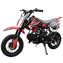 X-Pro 110cc Dirt Bike Pit Bike Mini Gas Dirt Bike Kids Youth Dirt Bike Pit Bike 110cc Gas Dirt Pitbike