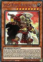 遊戯王 BLVO-EN097 War Rock Bashileos (英語版 1st Edition ウルトラレア) Blazing Vortex