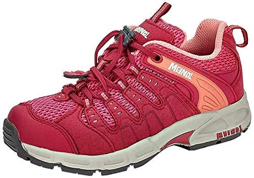 Meindl 2044 80 Respond Junior Mädchen Outdoorschuh aus Meshmaterial mit Fußbett, Groesse 30, rot/rosé