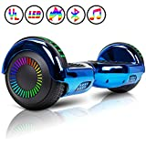 Huanhui Overboard 6.5'' Smart Self Balance Elettrici Scooter. 2 * 300W Motore, LED Elettrico...