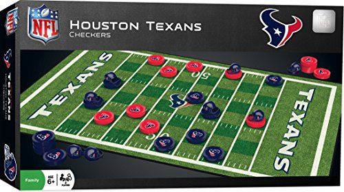 MasterPieces NFL Houston Texans Checkers Board Game