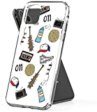 Pure Clear Anti-Scratch Motion for iPhone XR Cover Stranger Things Art Sticker