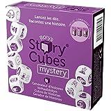 Asmodee Story Cubes: Mystery - Juego de dados multilenguaje, Multicolor (ASMRSC29ML1)