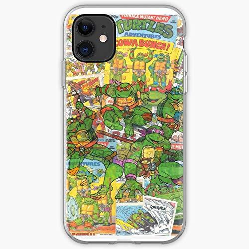 Turtle Hero Superhero Vintage Mutant Teenage Comic Ninja I Fsgteam- Phone Case for All of iPhone 12, iPhone 11, iPhone 11 Pro, iPhone XR, iPhone 7/8 / SE 2020… Samsung Galaxy