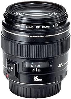 Canon Lens Ef85Mm F1.8 Usm Fotoğraf Makinesi, Full HD (1080p), Siyah, 2 Yıl Canon Eurasia Garantili