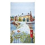 HENRY GLASS & CO. 0645858 Henry Glass Winter Cottage 24''
