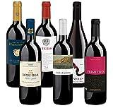 Bio Wein Probierpaket Weinset Rotwein Geschenk Paket Italien Spanien Frankreich Trocken Vegan (6 x 0.75 l)