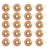 Bobina di rame di alta qualità del cavo dell'induttore magnetico toroidale 20Pcs per il circuito stampato 100UH 0.6mm