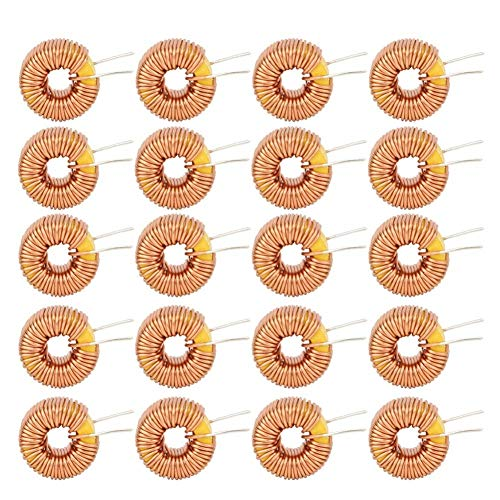 20 Unids Toroide Inductor Magnético Alambre...