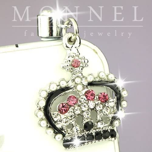 Ip613 Cute Queen Crown Crystal Anti Dust Plug Cover Charm for Iphone 4 4s product image