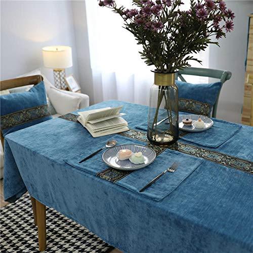 HXRA tafelkleden outdoor tafelkleden vierkante tafel Cover rechthoek praktische tafelkleden tafelkleed voor banket partij evenementen pure effen kleur groen blauw grijs koffie