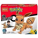 Mega Construx GMD34 - Pokémon Jumbo Evoli (30cm), Bauset mit beweglicher Figur, Spielzeug ab 10 Jahren