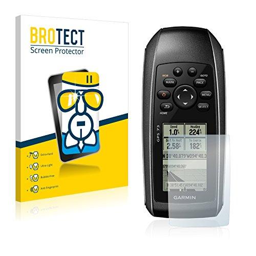 BROTECT Protector Pantalla Cristal Compatible con Garmin GPS 73 Protector Pantalla Vidrio - Dureza Extrema, Anti-Huellas, AirGlass