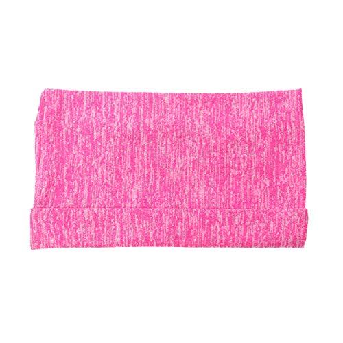 ABOOFAN Bolsa de brazo deportivo portátil multifuncional bolsillos pulsera muñeca teléfono móvil llaves tarjetas titular jogging running ciclismo senderismo para teléfonos tamaño S (rosa)