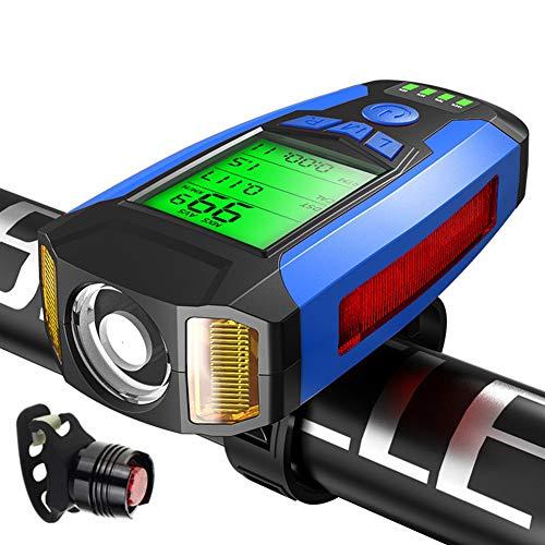 cuentakilometros ciclocomputador Velocímetro Ciclismo de la computadora Sensor de cadencia Bicicleta velocímetro...