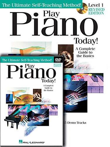 Play Piano Today! Beginner's Pack Edition: Book/Online Audio/DVD Pack