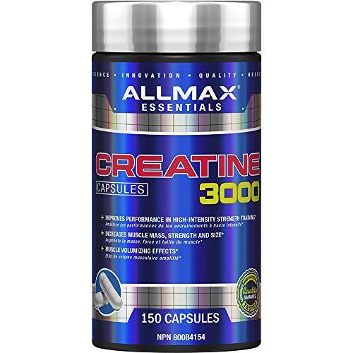 ALLMAX Nutrition - Creatine Monohydrate Capsules - 150 Count