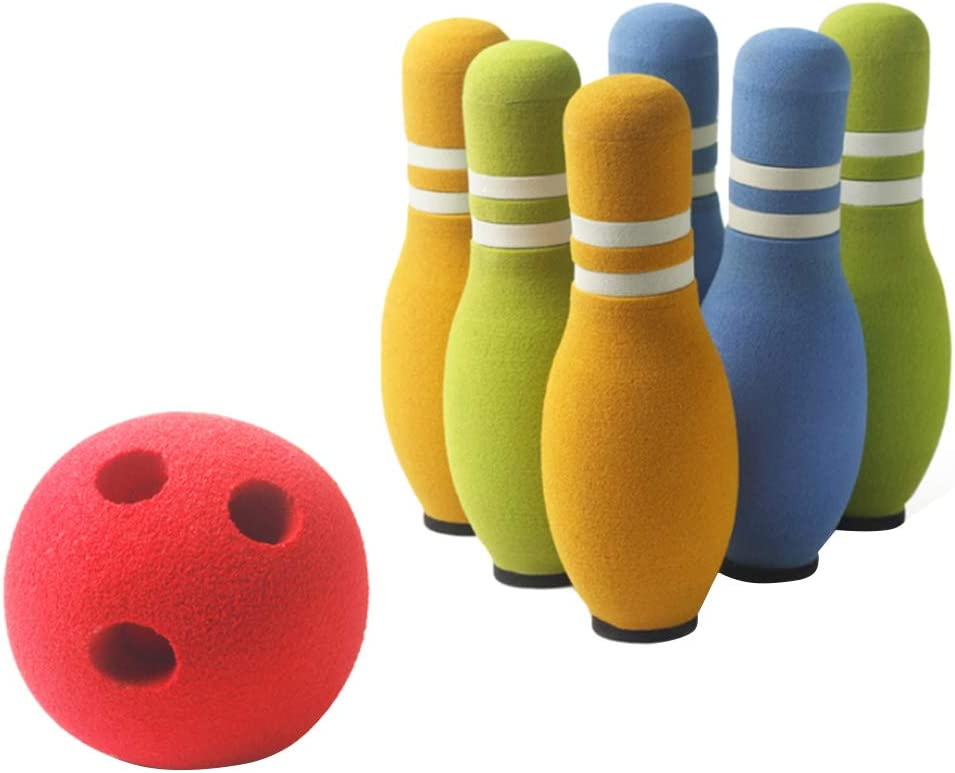 Novelty Toy Set7 New Shipping Free Pcs Soft Bowling Funny quality assurance Indoor Sports Sets Play