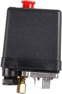 BIlinli Manometro 40mm quadrante 1//8BSPT Verticale 15,30,60,100,160 200 300 PSI e Barra
