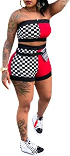 Best checkered jumpsuit shorts Reviews