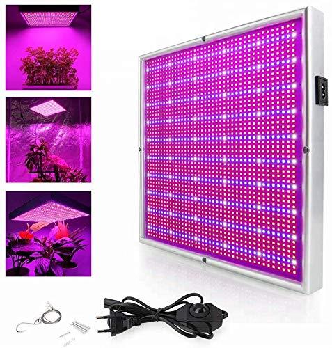 200W LED Pflanzenleuchte 2009pcs Rot&Blau SMD LED Pflanzenlampe Pflanzen Wachstumslampe Pflanzenlicht Wuchslampen Innengarten Pflanze wachsen Licht Hängeleuchte
