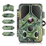 Campark WiFi Bluetooth Trail Camera 20MP 1296P, No Glow Night...