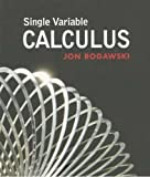 Single Variable Calculus