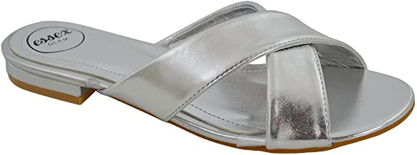 Best cross over slider sandals Reviews