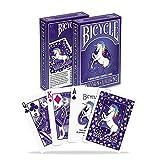 URNOFHW Fahrrad-Einhorn Standard-Spielkarten Deck Poker-Größen-Gewohnheit Limited Edition Zauberkarten Zaubertricks Props for Magier