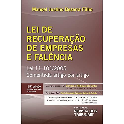 Lei De Recuperação De Empresas E Falência 15º Edição