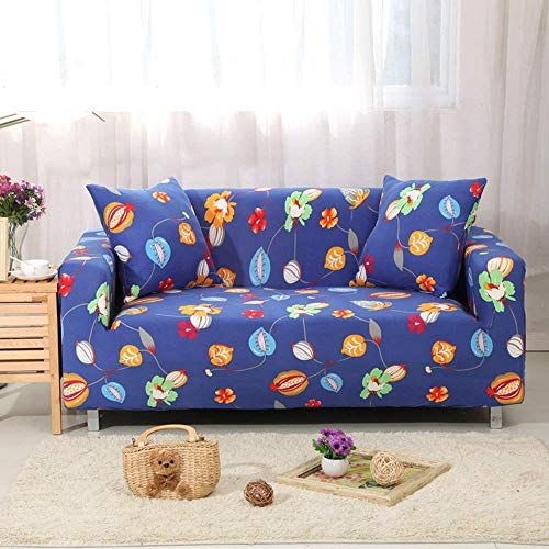 HFTYCC Funda de sofá 1 2 3 4 plazas, Sala de Estar, Mascotas, sofá, Protector de Muebles, cojín Suave, cómodo y Duradero, 4 plazas, Verano