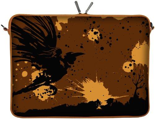 Digittrade LS171-17 laptoptas 43,9 cm (17,3 inch), oranje - laptoptas (tas, 43,9 cm (17,3 inch), 380 g, oranje)
