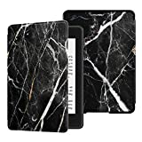 HUASIRU Water-Safe Case for All-New Kindle Paperwhite (10th Gen - 2018 Release only—Will Not fit Prior Gen Kindle Devices), Marble Black