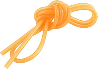 Apex RC Products 3' Clear Orange Silicone Nitro Fuel Line Tubing #8057-OR