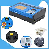 Samger Samger 220V Laser Engraver 40W CO2 Laser Engraving Cutting Carving Machine USB Port