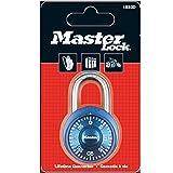 Master Lock 1533EURD Candado de Combinación de Acero Inoxidable, Multicolor