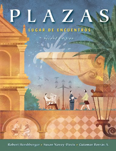 Plazas: Lugar de encuentros (with Audio CD's) (Available Titles CengageNOW)
