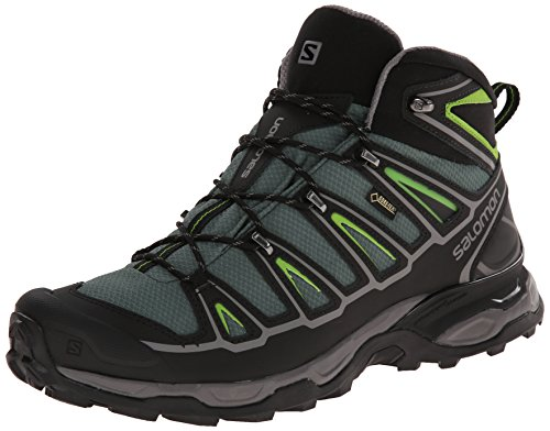 SALOMON L37103200, Chaussures de randonnée Homme, Vert, 40 EU