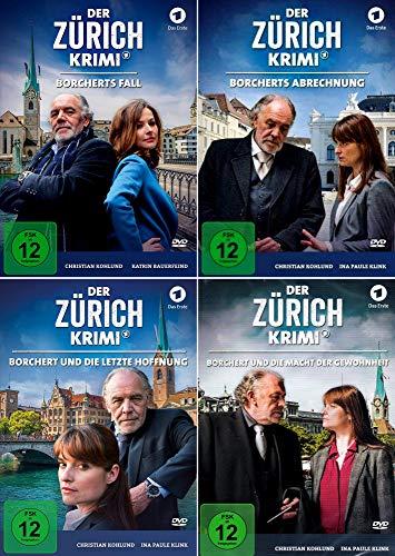 Der Zürich Krimi (Folge 1 - 4) Borcherts Fall + Borcherts Abrechnung + Borchert und die letzte Hoffnung + Und die Macht der Gewohnheit