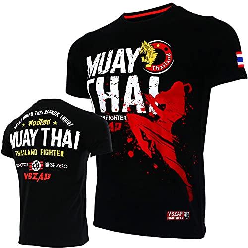 HAOHAO UFC Ultimate Fighting Champion Camiseta UFC Fight Night T-shirt NexGen Ropa de gimnasio Entrenamiento BJJ, MMA, K1, Gimnasio para hombre S